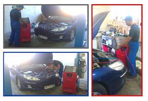 Обслуживание автомобильных климатических установок (кондиционеров)